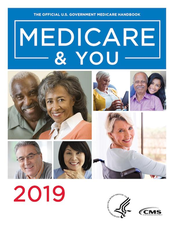 Medicare and You 2019 handbook cover