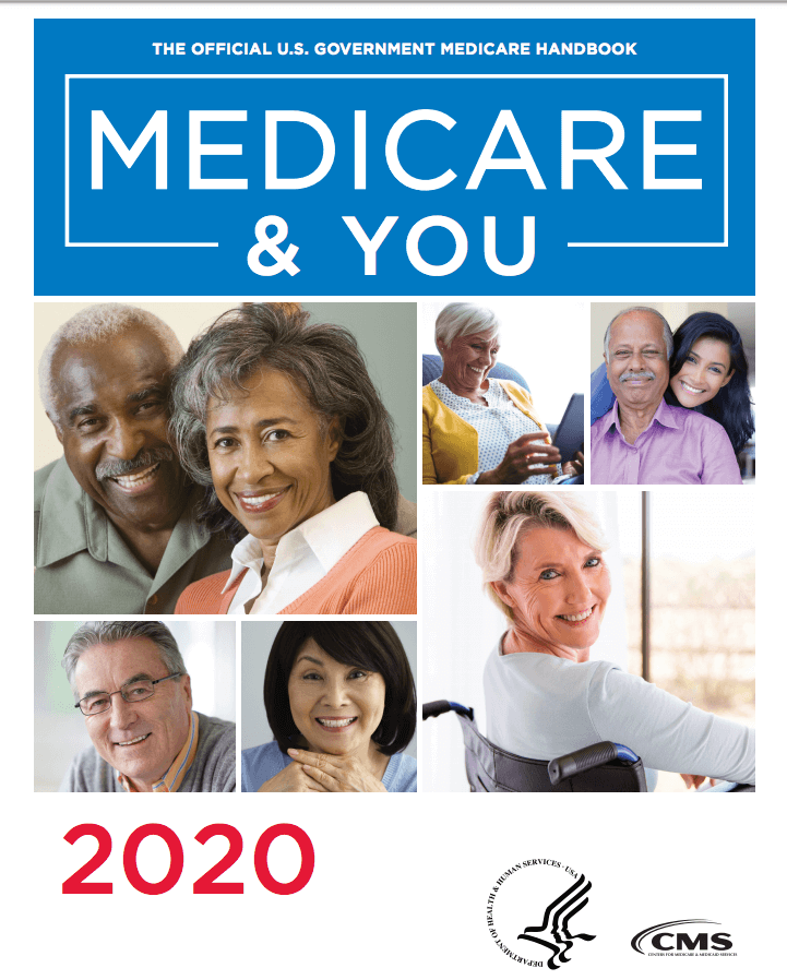 Medicare and You 2020 handbook cover